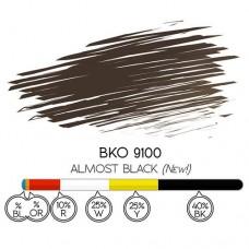 """Хидро пигмент BKO 9100 """"Almost Black"""""""