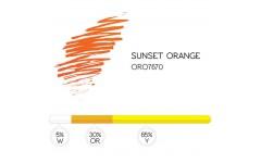 "Хидро пигмент 7670 ""Sunset Orange"""