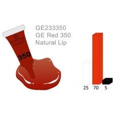 "Red 350 ""Natural lip"""